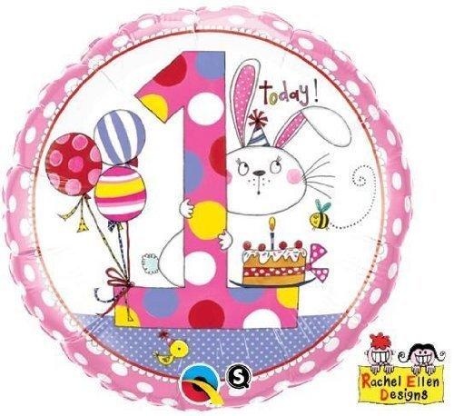 Folienballon Rachel-Ellen 1 Bunny Polka Dots