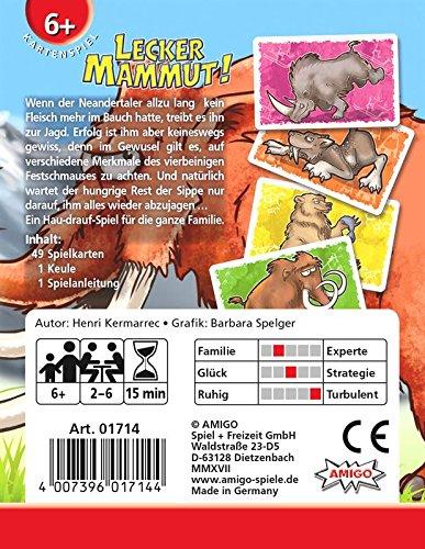 AMIGO Lecker Mammut!