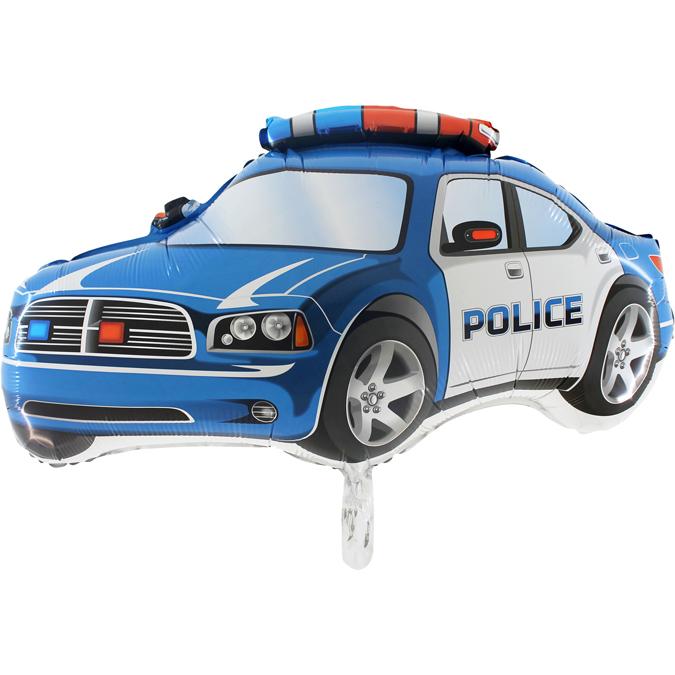 Supershape Polizei Auto