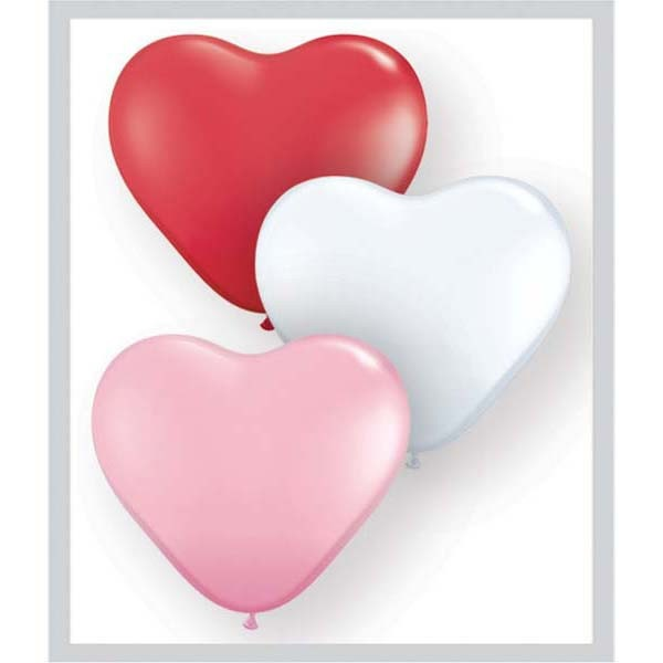 Latexballon Herz 11inch - 1 Stück