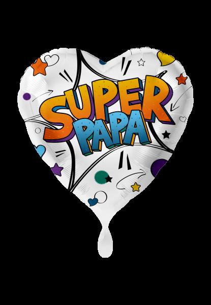 Folienballon Super Papa