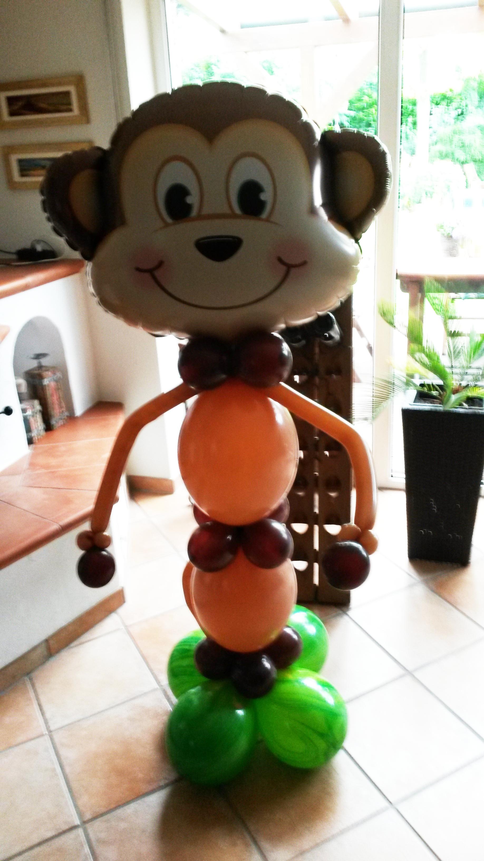 Großes Ballontier - Affe
