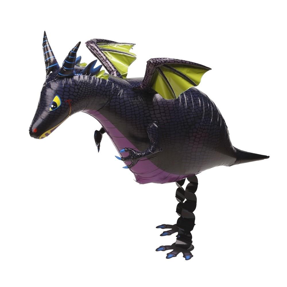 Walking Balloon Dragon black - 63075