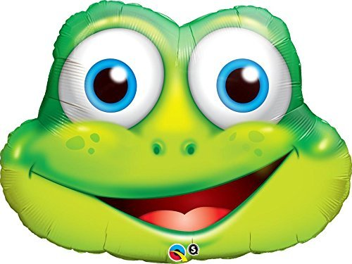 Funny Frog Folienfigur