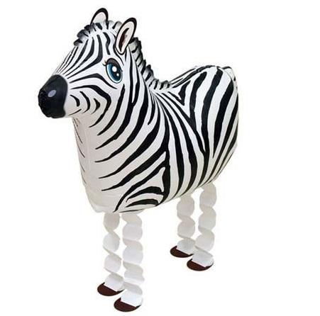 Walking Balloon Zebra - 58468