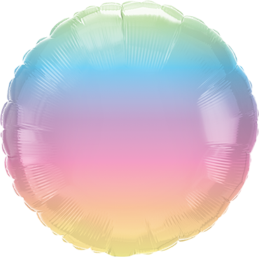 Folienballon Pastel Ombre