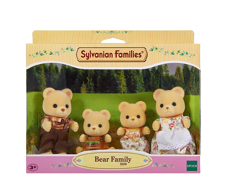Bären Familie Pelzig