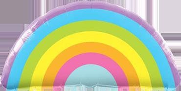 Folienfigur Radiant Rainbow