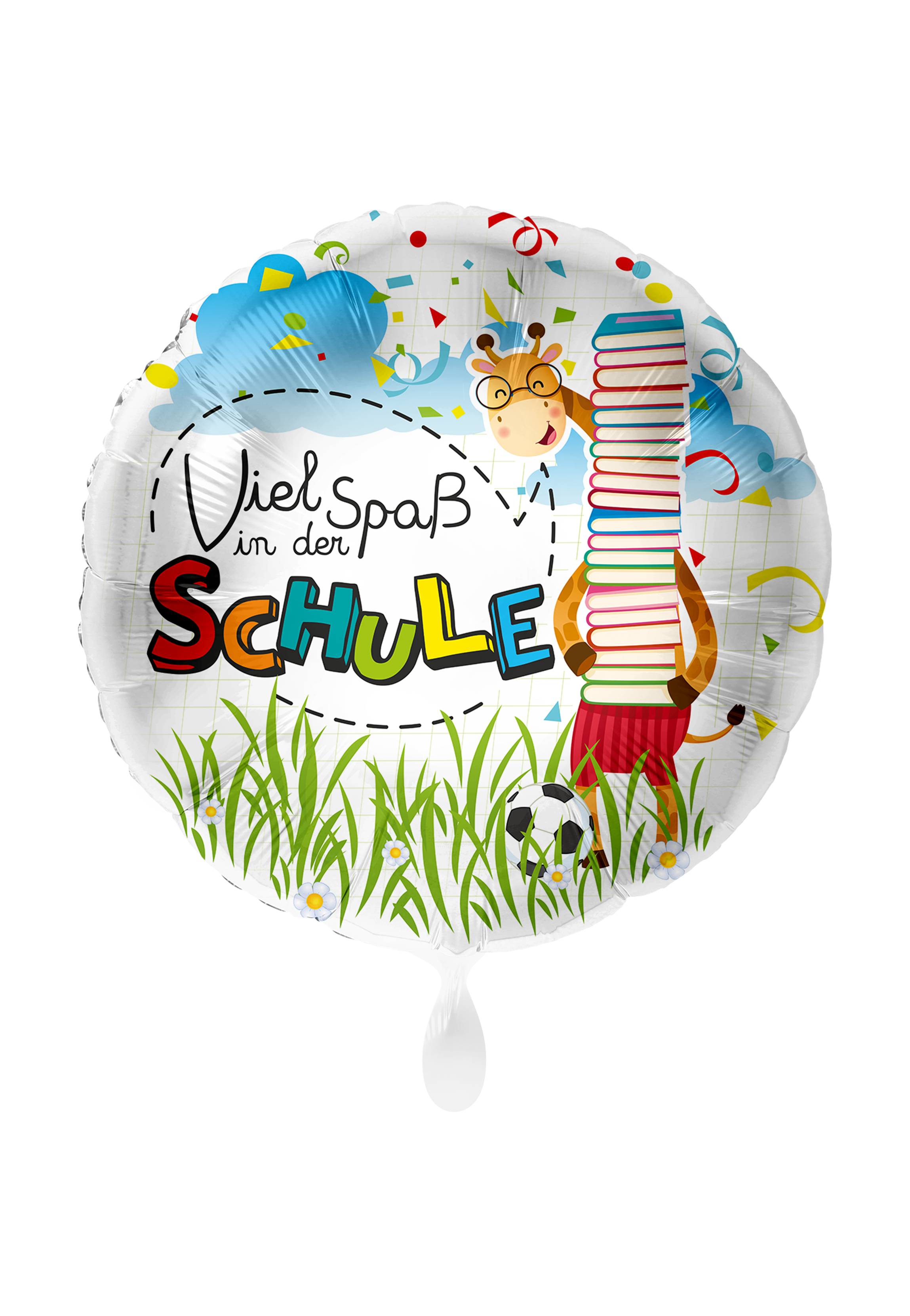 Folienballon Viel Spaß in der Schule