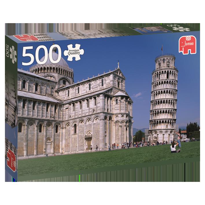 Landschaftspuzzle - Italien Turm von Pisa
