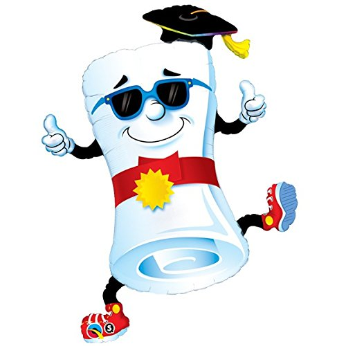 Folienballon Mr Diploma - Thumbs Up!