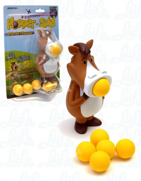 Pferd Plopper