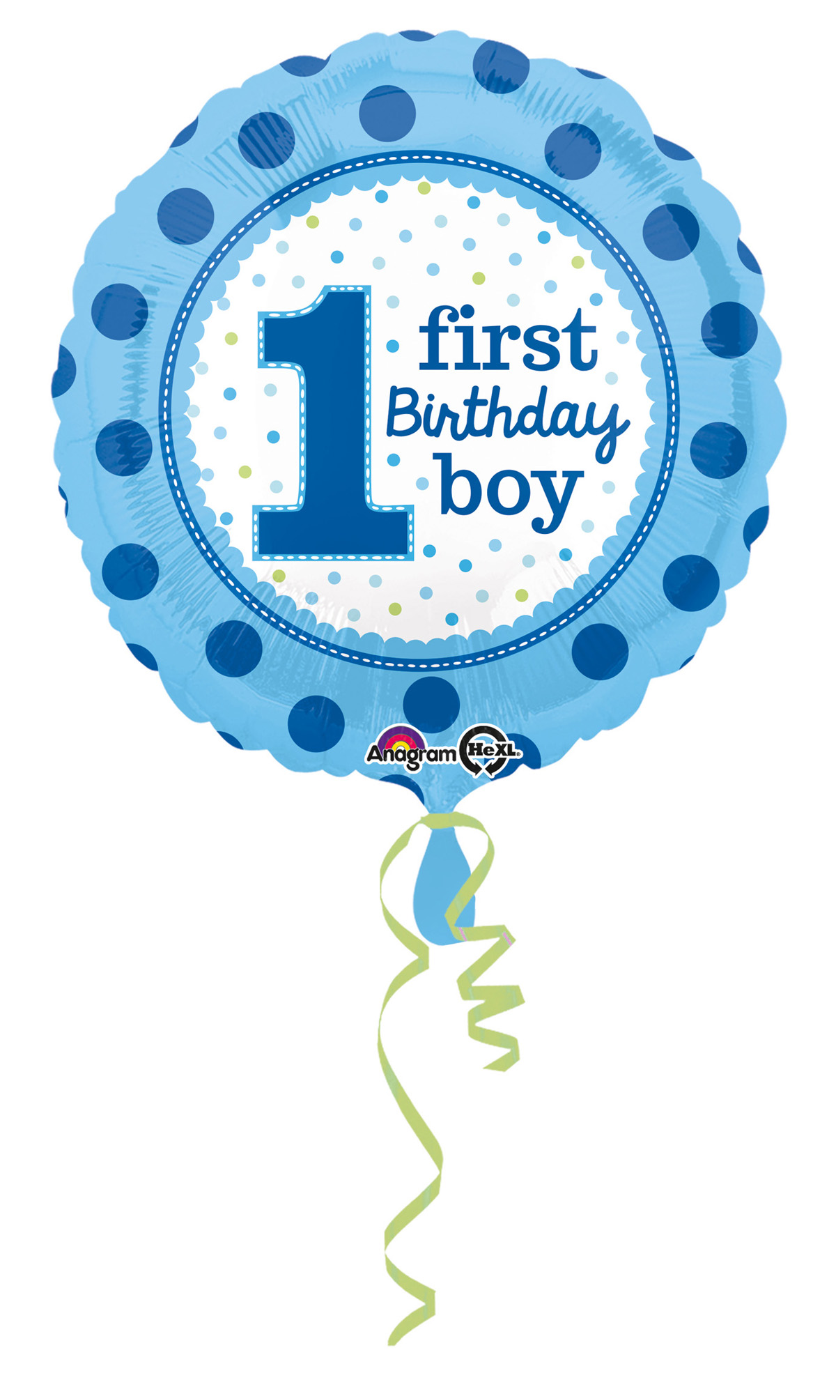 Folienballon Birthday Boy 1