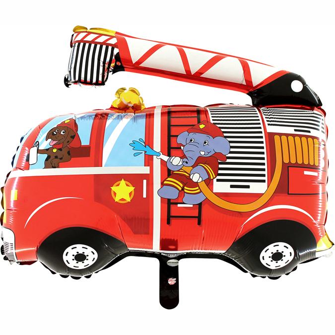 Supershape Feuerwehr-Auto - 63890