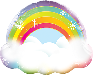 Supershape Regenbogen mir Wolke