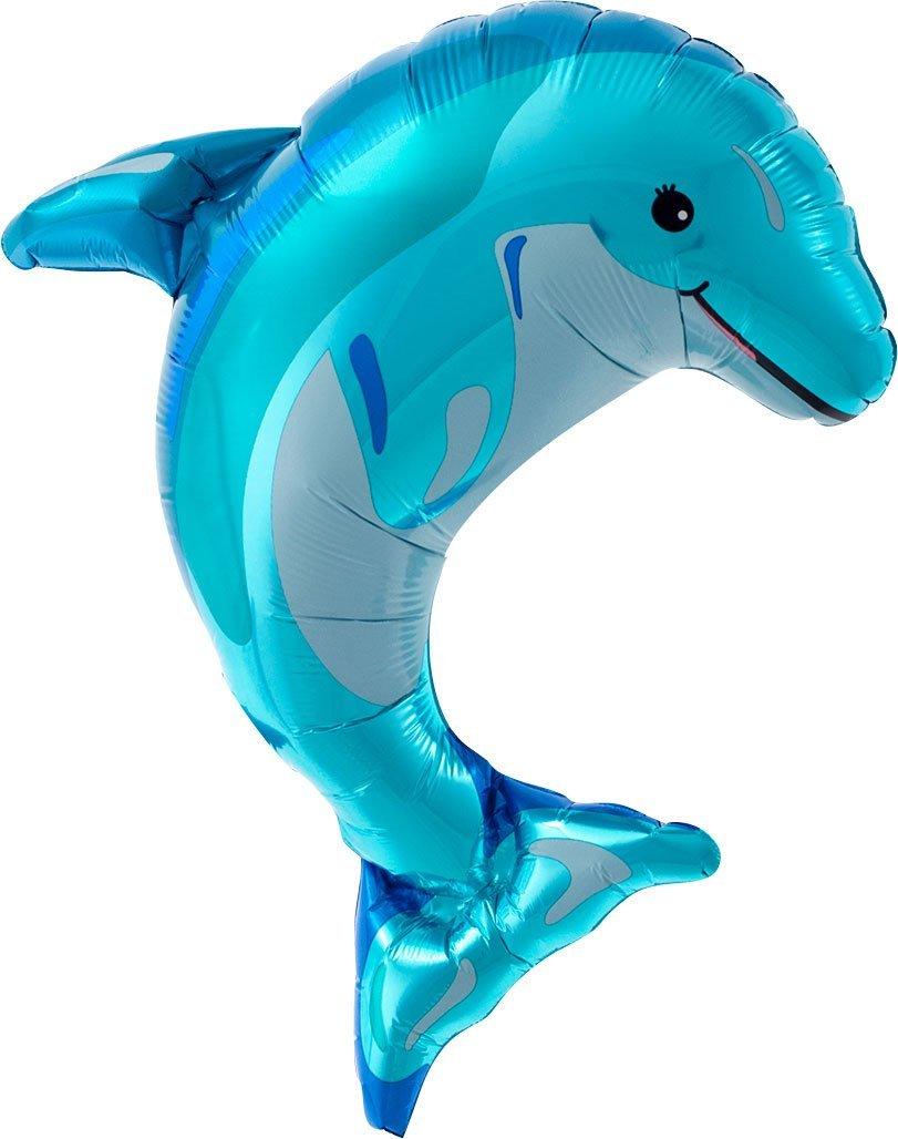 Folienfiguren Delfin 14in/35cm