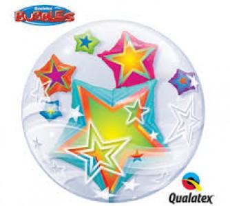 Double Bubble Multicoloured Stars