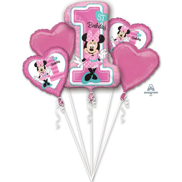 Bouquet Minnie 1st Birthday - 65760