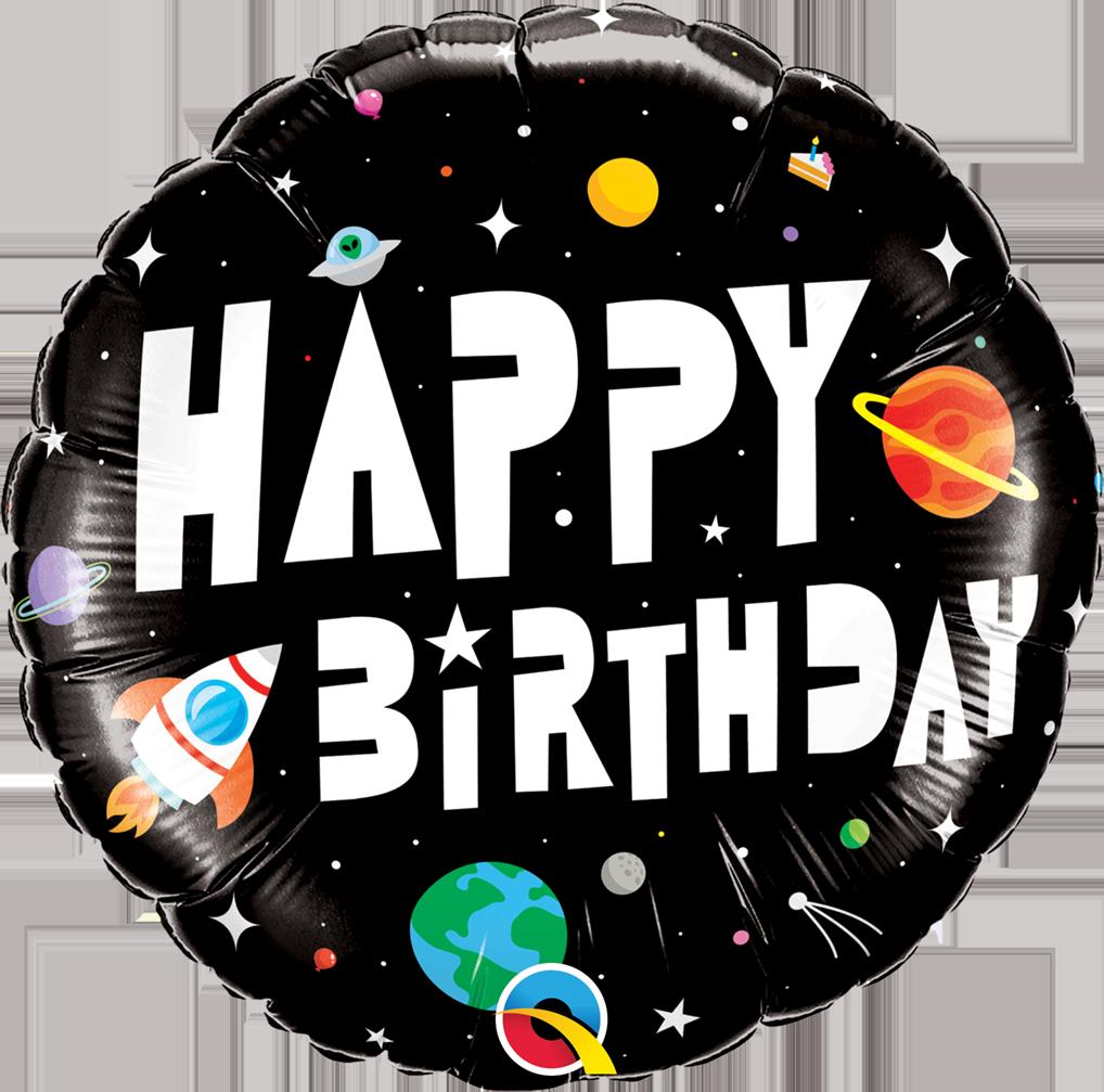 Folienballon Birthday Astronaut - 64846