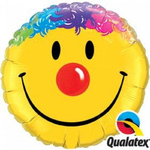 Folienballon Smile Face Round 36in/91cm