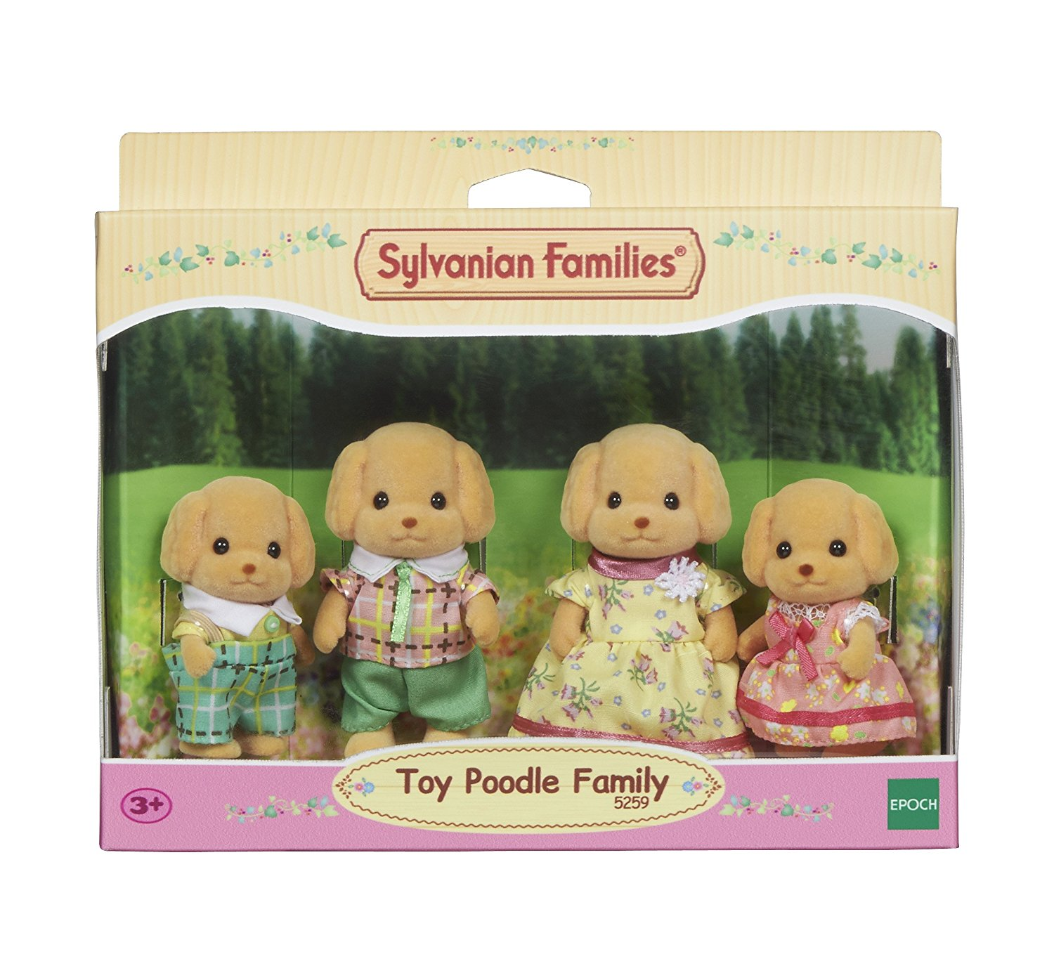 Familie Wuschl (Toy-Pudel)