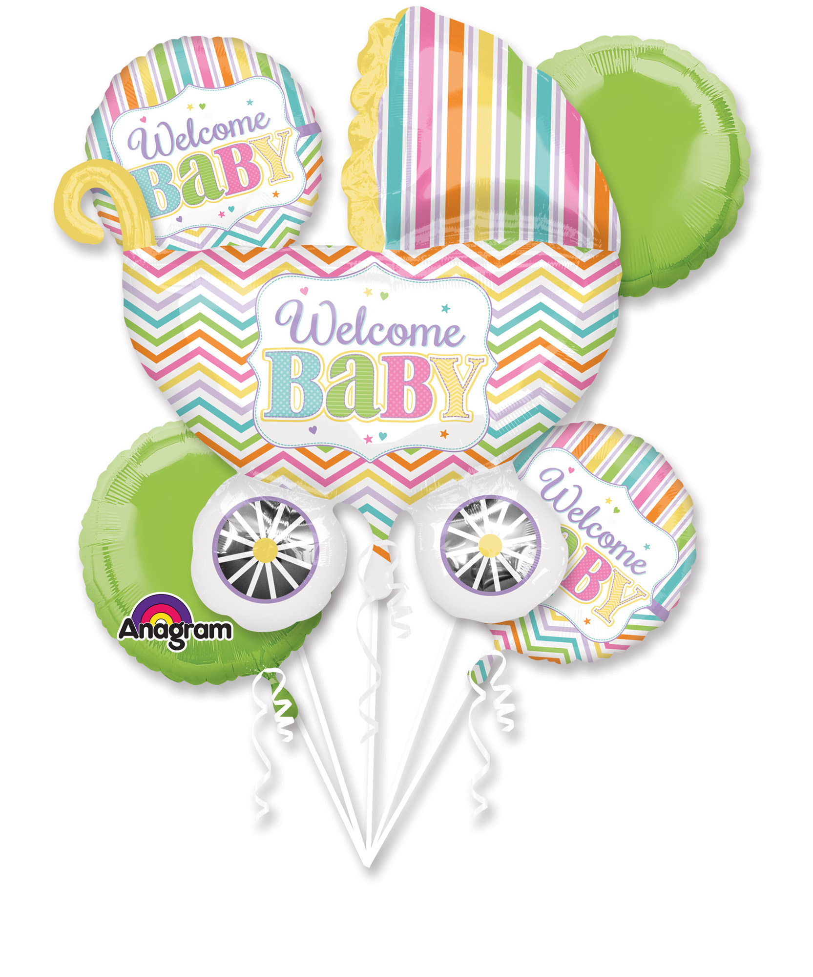 Folien-Bouquet Baby Brights