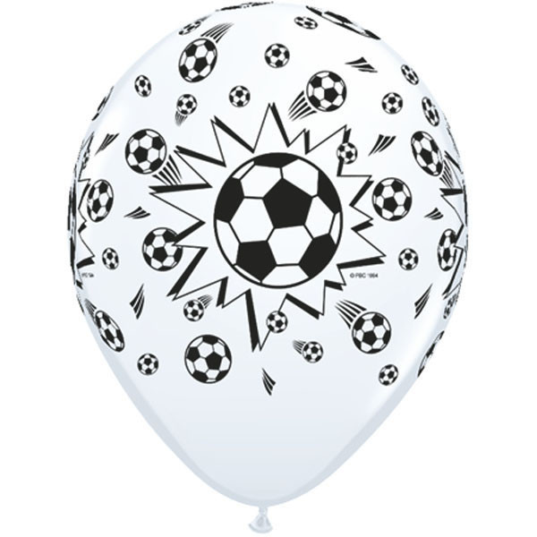 Soccer Balls Standard Latex Round 11in - 1 Stück