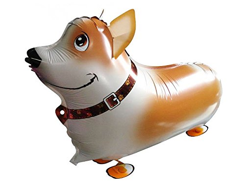 Walking Balloon Hund Corgi - 58466