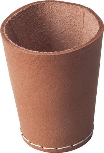 Leder-Würfelb. nat. 8,5cm