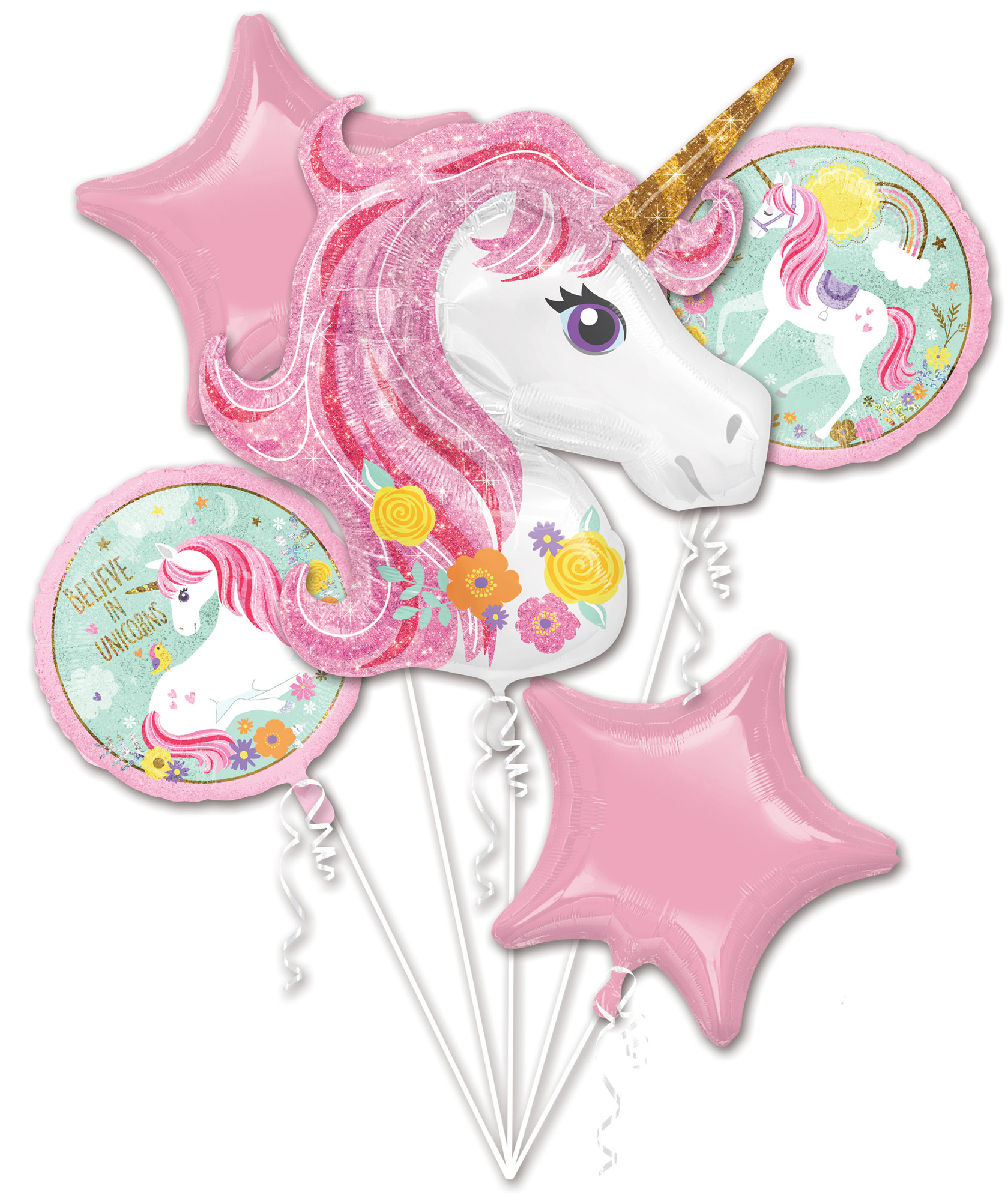Folien-Bouquet Magical Unicorn
