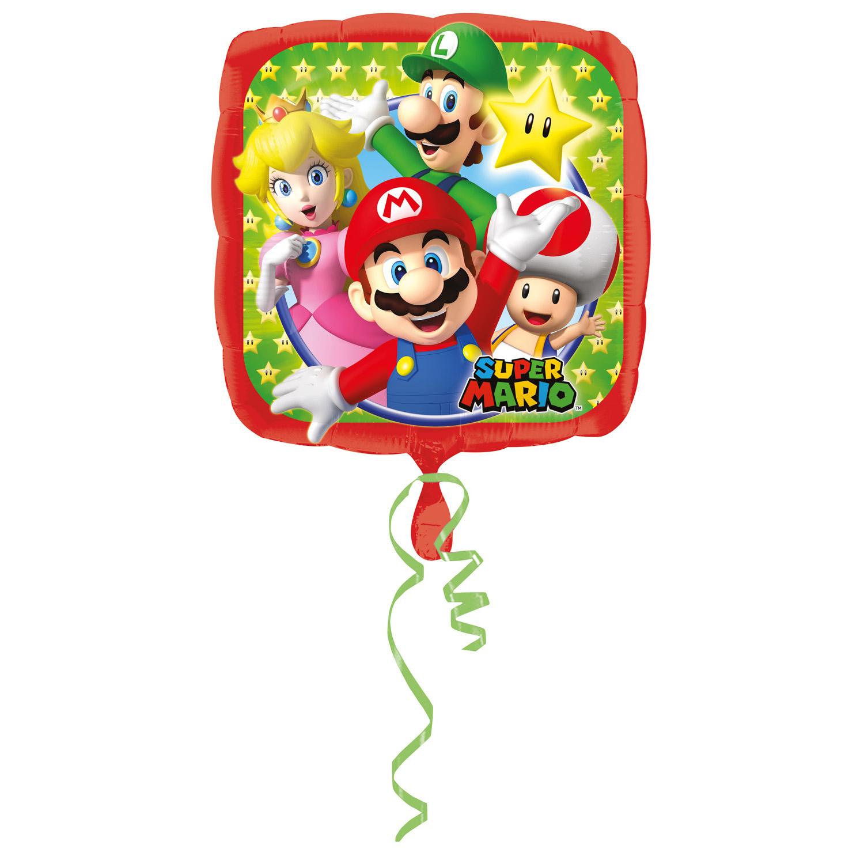 Folienballon Super Mario - 65763