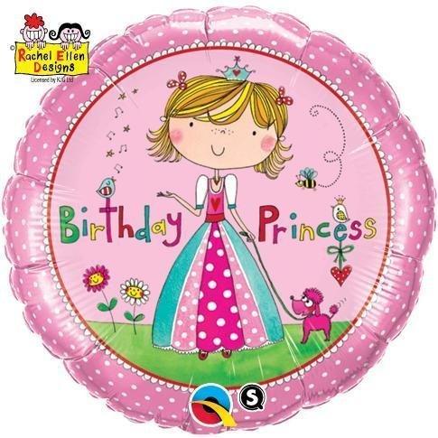 Rachel-Ellen Birthday Prinzessin Round 18in