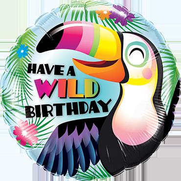 Folienballon Have a Wild Birthday
