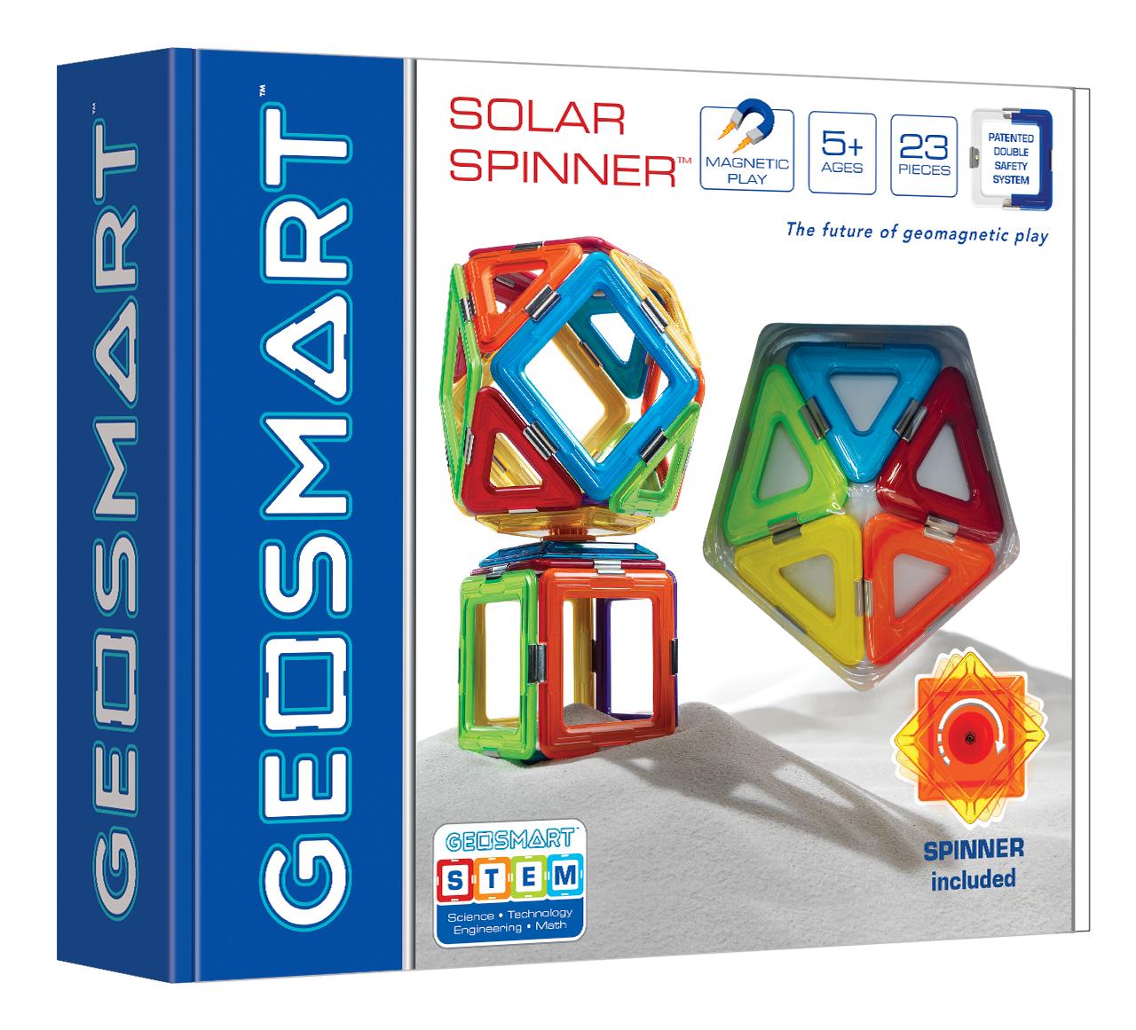 GeoSmart Solar Spinner