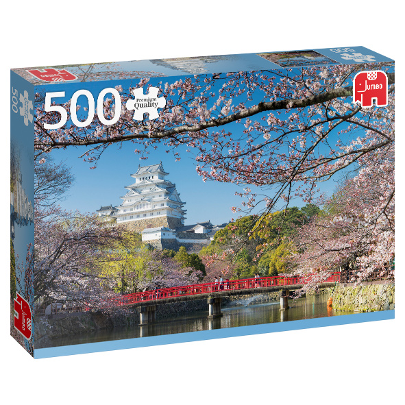 Puzzle Himeji-Schloss - Japan - 500 Teile