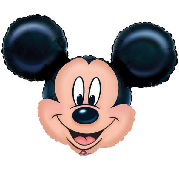 Folienballon Mickey Mouse Head 27in