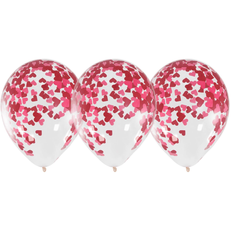 Heliumflasche Balloongaz 30 'Love' mit Ballons und Bändern