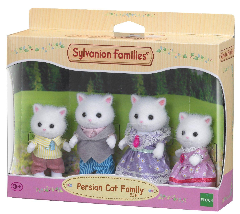 Persische Katzen Familie