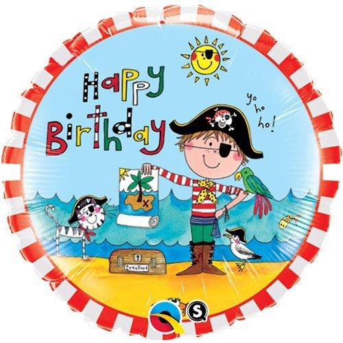 Rachel-Ellen Birthday Pirat Round 18in