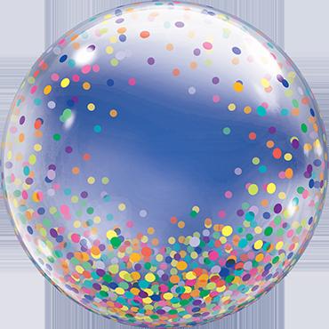 Decobubble Colorful Confetti Dots - 61352