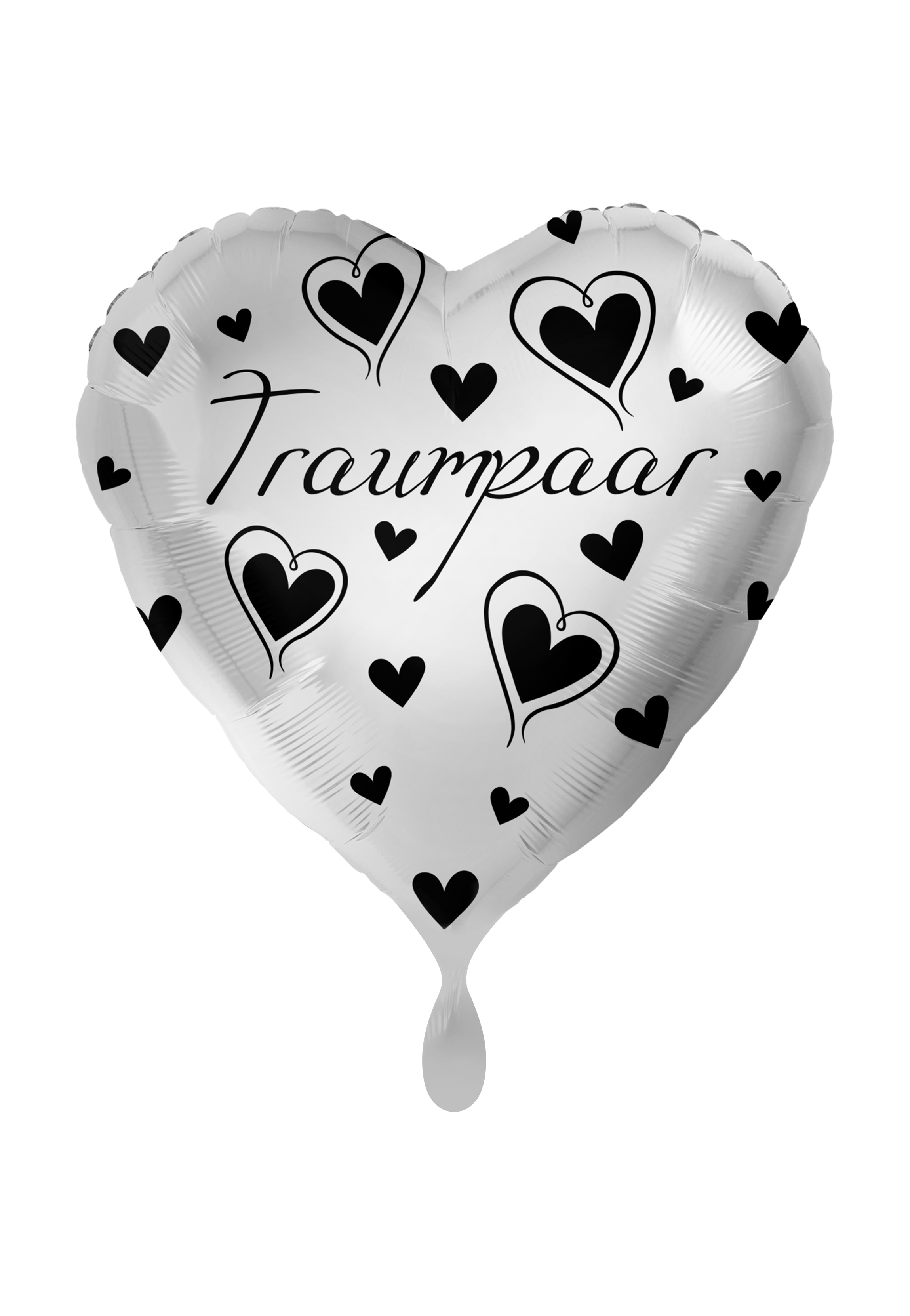 Folienballon Herz Traumpaar