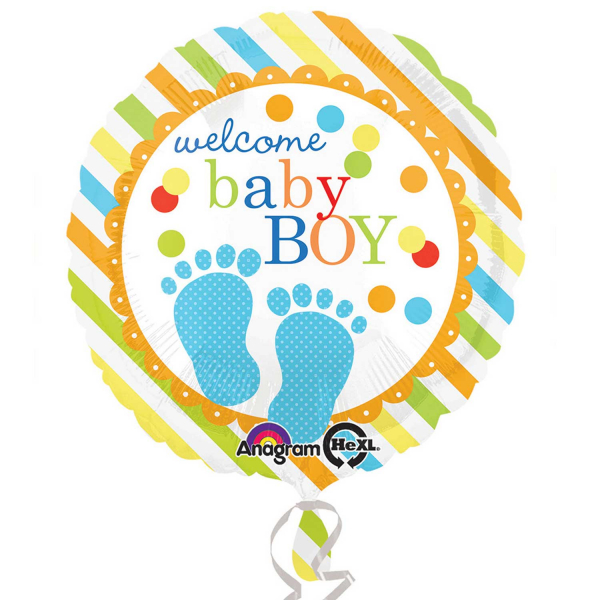Folienballon Baby Feet Boy