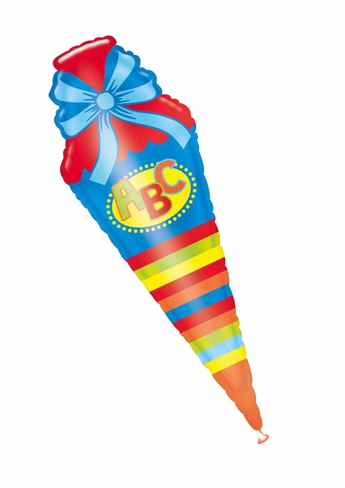 Folienballon Supershape ABC Schultüte