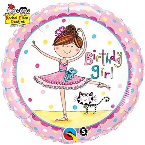Rachel-Ellen Birthday Girl Round 18in