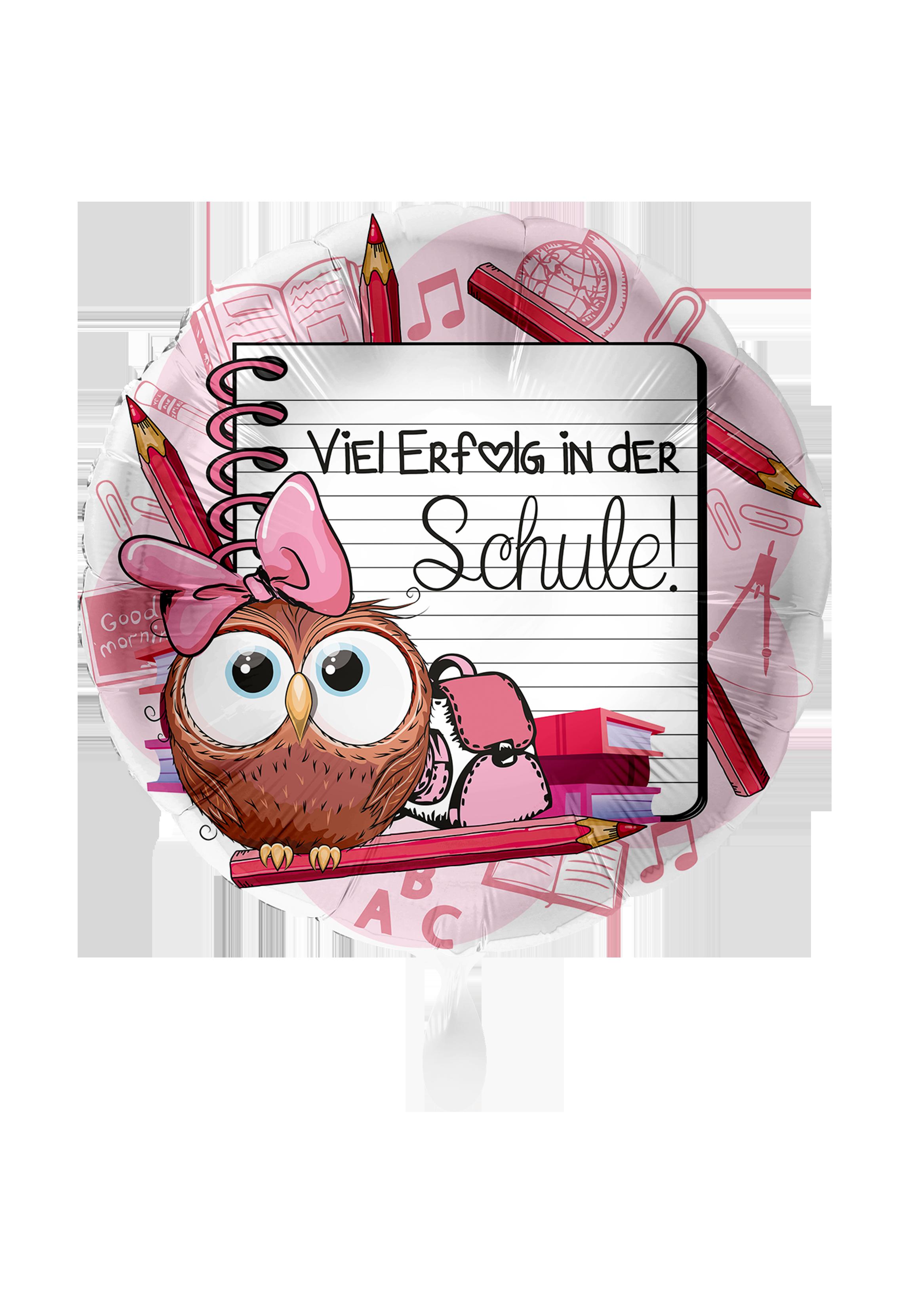 Folienballon Viel Erfolg in der Schule - 62773