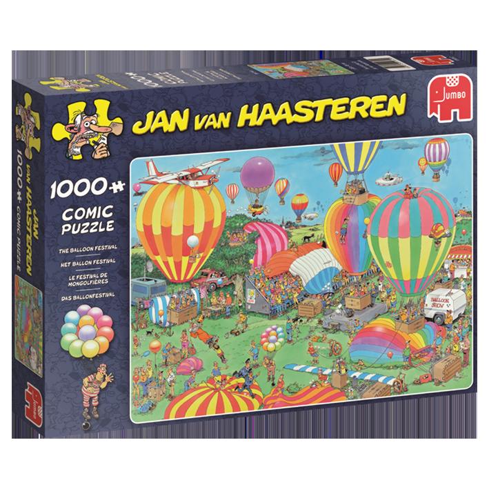 Jan van Haasteren  - Das Ballonfestival