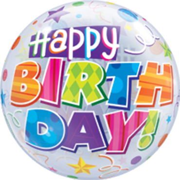 Bubble Birthday Party Patterns - 65168