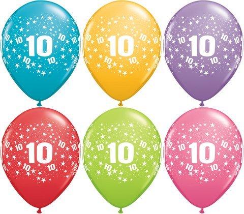 Latexballons - Globaldruck 10 - 1 Stück
