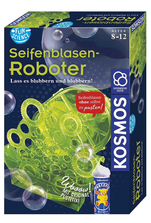 Kosmos Funs Science Seifenblasen-Roboter