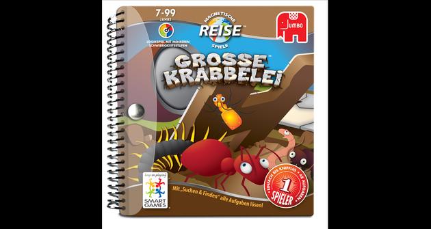 Magnetische Reisespiele Grosse Krabbelei